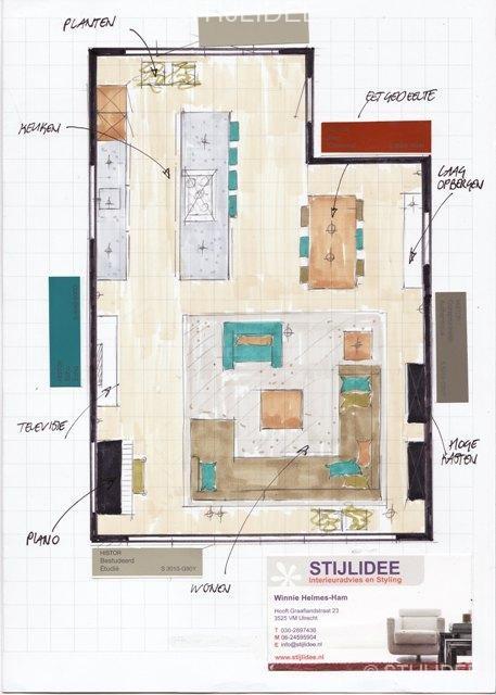 Stijlidee interieuradvies en styling door interieurstylist - Idee van interieurontwerp ...