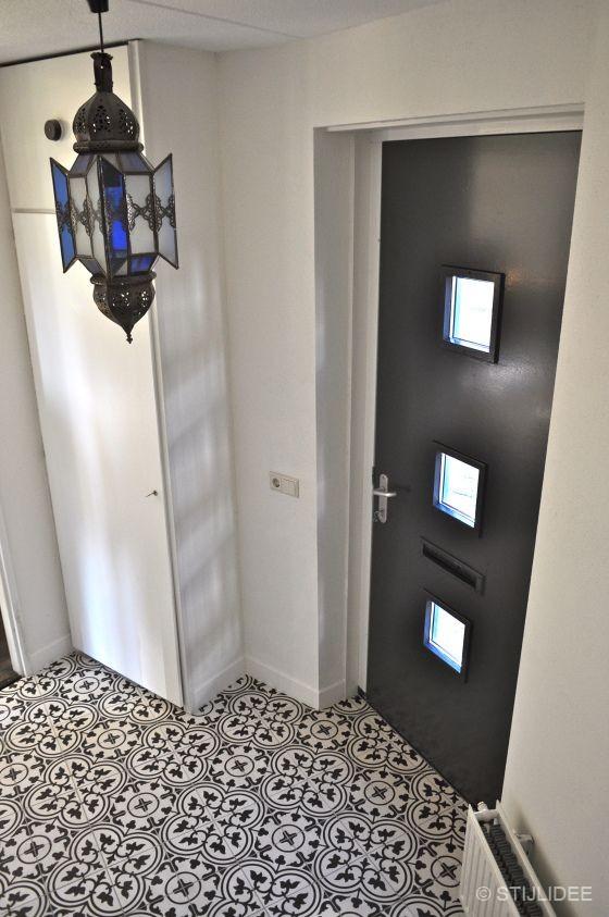 Binnenkijken in ... een modern klassieke vintage woonkamer in Vleuten ...
