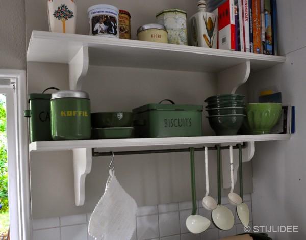 Binnenkijken in een jaren 30 huis in bilthoven - Keuken in het oude huis ...