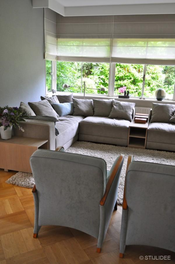 Woonkamer zandkleur interieur meubilair idee n for Interieur kleurencombinaties