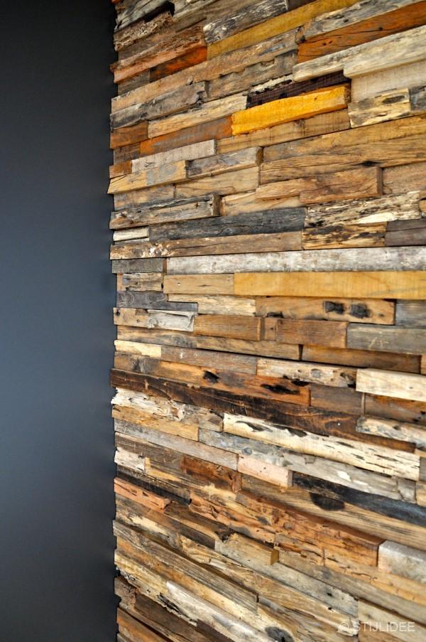 keuken met wonderwall na STIJLIDEEu0026#39;s interieuradvies, kleuradvies en ...