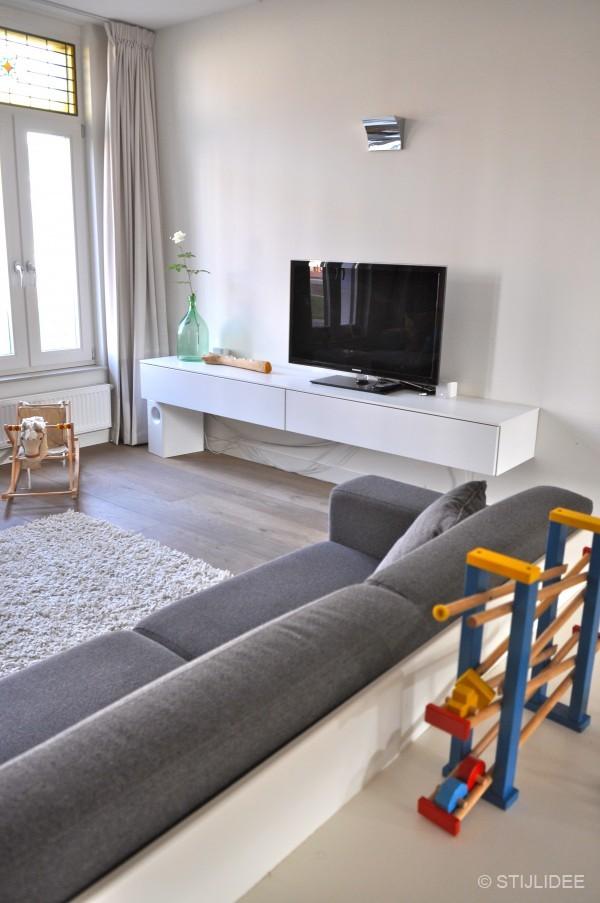 Lange Woonkamers: woonkamer residence. Muur woonkamer grijs ...