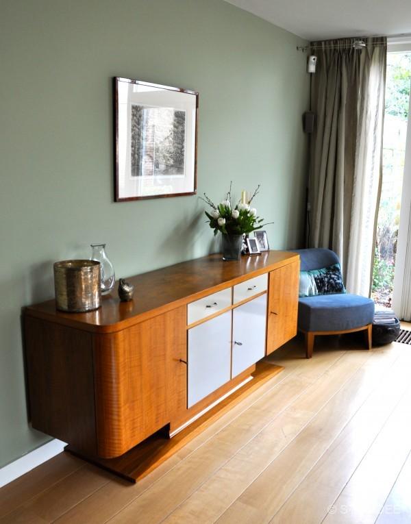 Landelijke Woonkamer Blauw : Modern landelijke woonkamer in odijk na ...