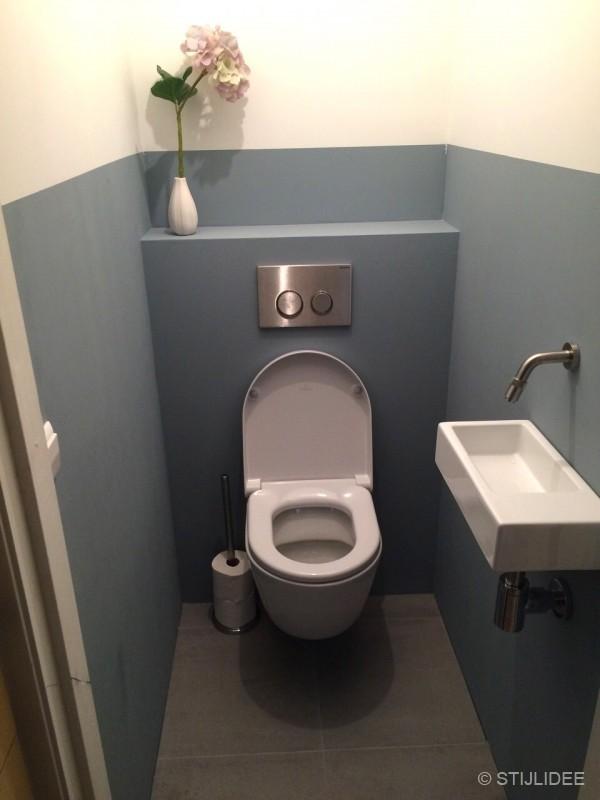 Keuken Schilderen Inspiratie : Binnenkijken in ? een groene keuken en blauw toilet in Oog in Al