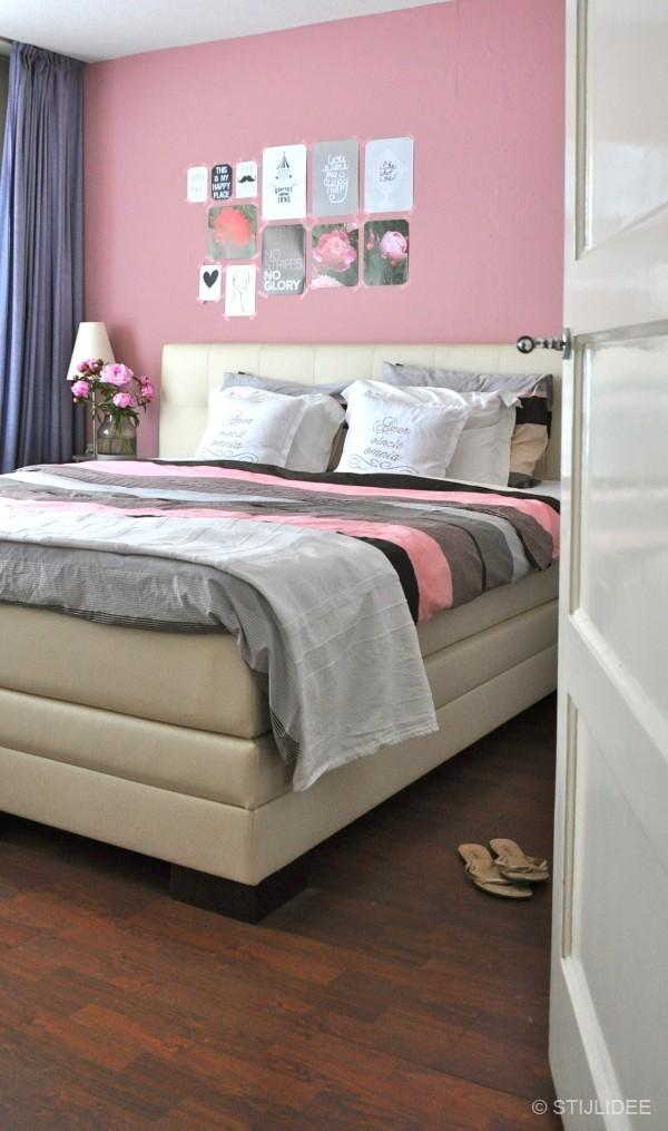 Slaapkamer Inspiratie Grijs Roze: Unieke slaapkamer interieur ideeën ...