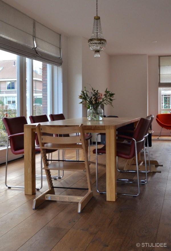 Binnenkijken in een woonkamer in modern landelijke stijl in den hoorn - Kleur verf moderne woonkamer ...