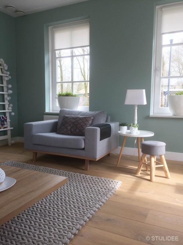 Binnenkijken in een nieuwbouwhuis in modern landelijke en scandinavische stijl in bavel - Houten vloer hal bad ...