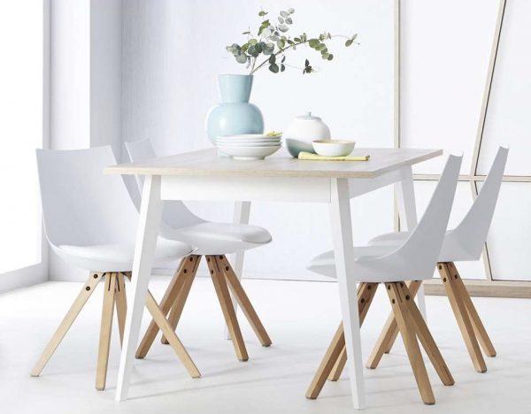 Stoelen de nieuwste eetkamerstoelen in scandinavisch for Eetkamerstoelen kuipmodel
